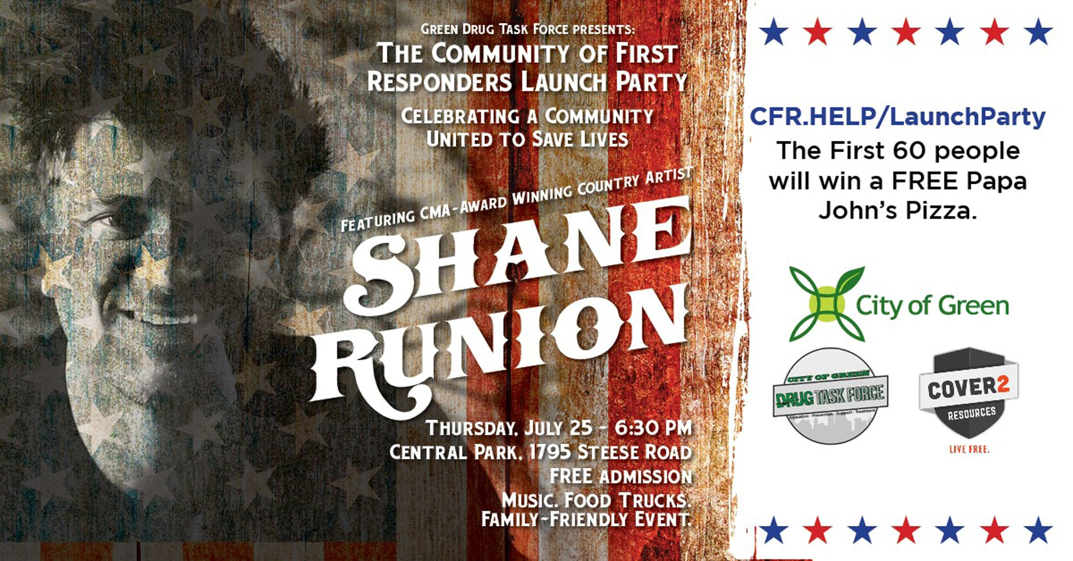 The Community Of First Responders Launch Party
